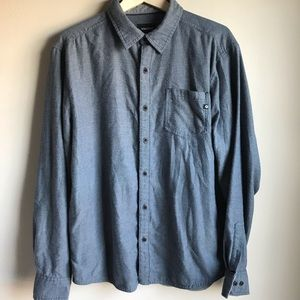 Marmot Hobson Midweight Flannel Grey Long-Sleeve